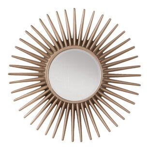 OSP Designs Ella Sunbeam Decorative Beveled Wall Mirror