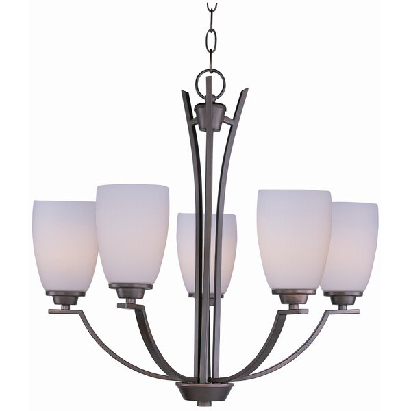 Barys 5-Light Shaded Classic / Traditional Chandelier By Red Barrel Studio