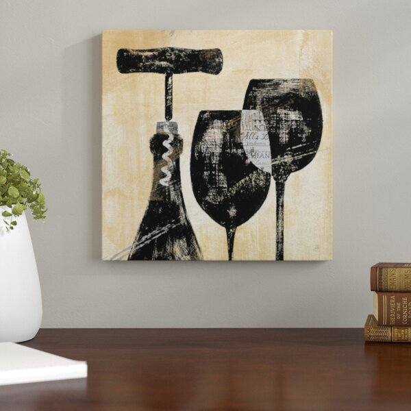 Wine Selection II Graphic Art on Wrapped Canvas by Andover Mills