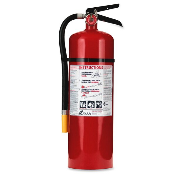 Kidde Pro 10 ABC - Multipurpose Dry Chemical Fire Extinguisher by Kidde