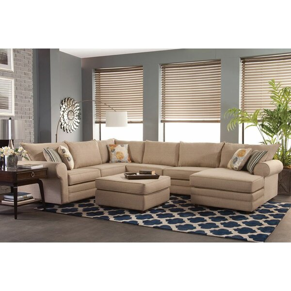 Honesdale Round Arms Sectional by Darby Home Co