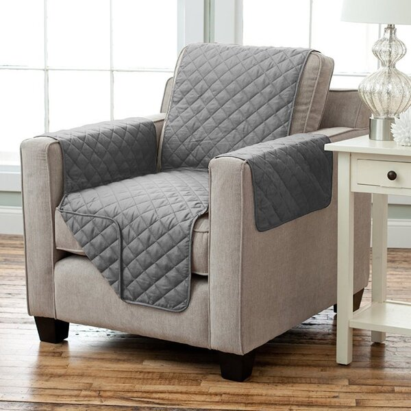 Oberon Box Cushion Armchair Slipcover by Andover Mills