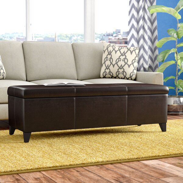 Denali Storage Ottoman By Andover Mills 2019 Sale