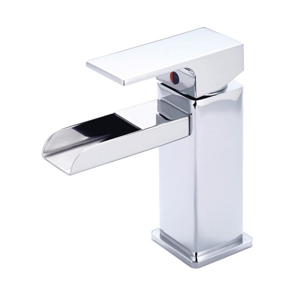 Waterloo Handle Square Single Hole Bathroom Faucet