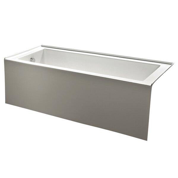 Aqua Eden 60 x 31 Alcove Soaking Bathtub by Kingston Brass