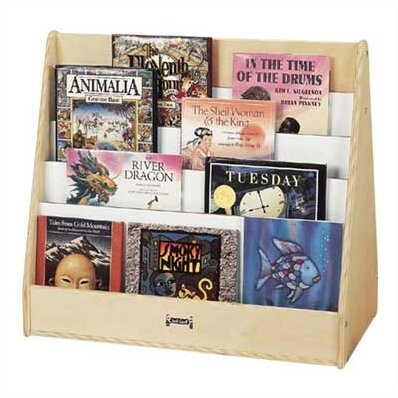 Double Sided 8 Compartment Book Display by Jonti-Craft