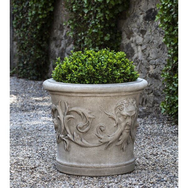 Cynda Cast Stone Pot Planter by Astoria Grand