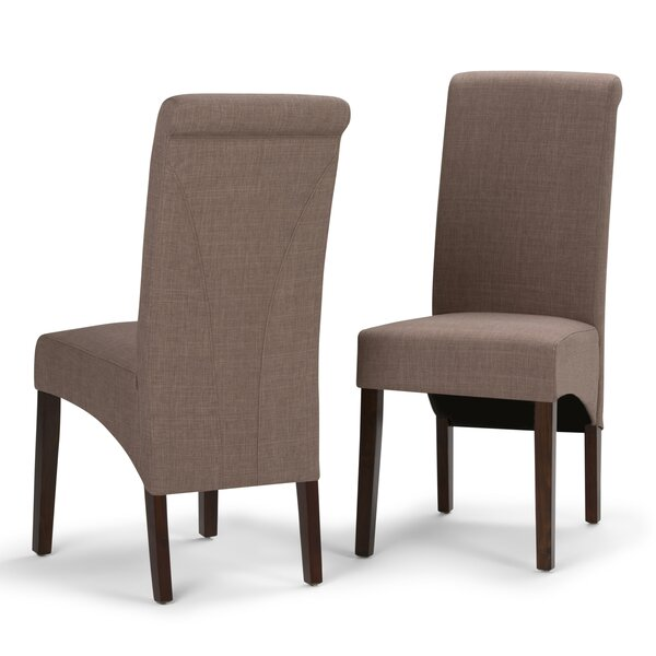 Agnon Deluxe Upholstered Dining Chair (Set of 2) by Alcott Hill