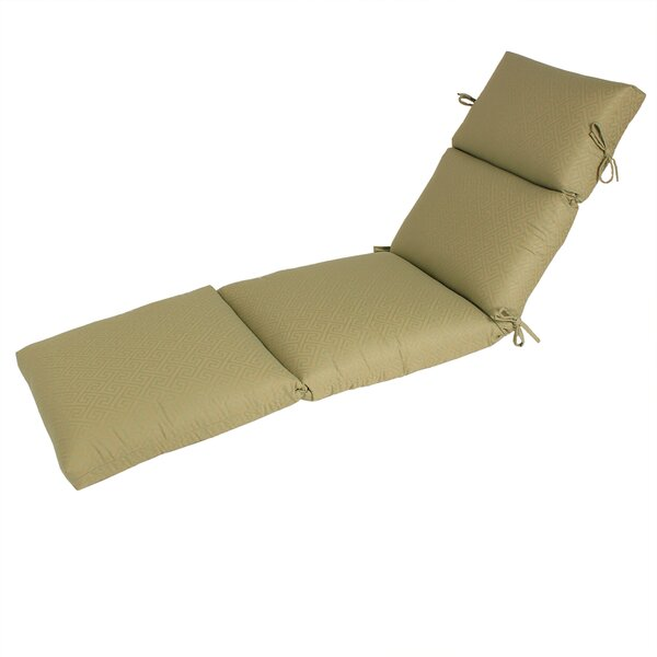 Indoor/Outdoor Sunbrella Chaise Cushion (Set of 2) by Comfort Classics Inc.