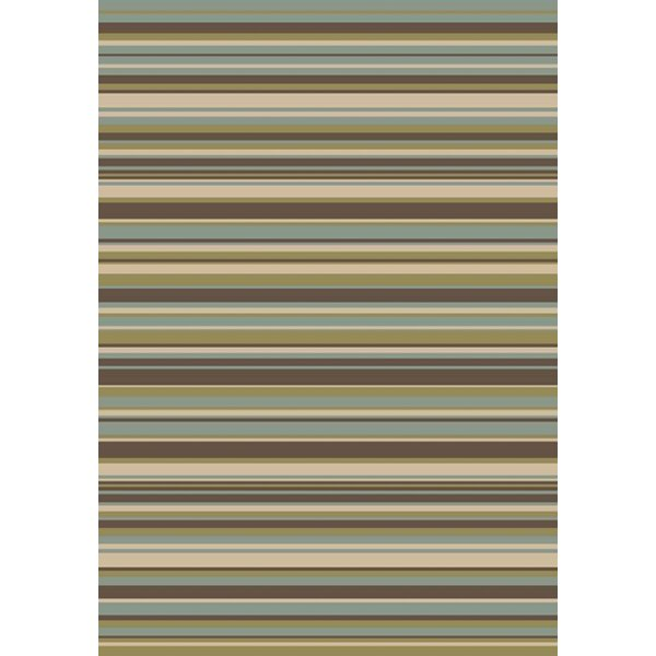 Eckert by Art 1896 Green/Brown Area Rug by Winston Porter