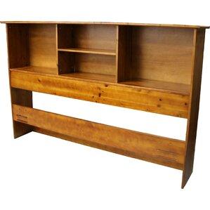 Gordon Bookcase Headboard by Red Barre..