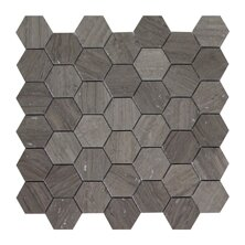 Milano 2'' x 2'' Marble Mosaic Tile in Gray by Seven Seas