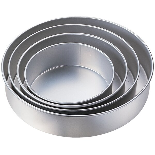 4 Piece Round Pan Set by Wilton
