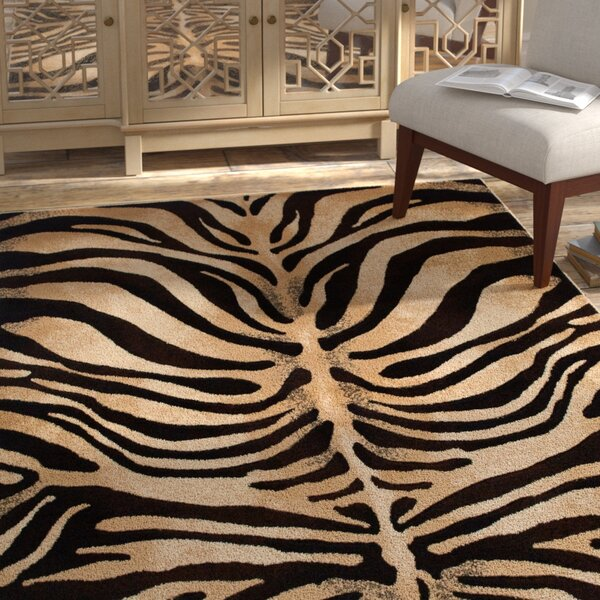 Edolie Black/Ivory Area Rug by Bloomsbury Market