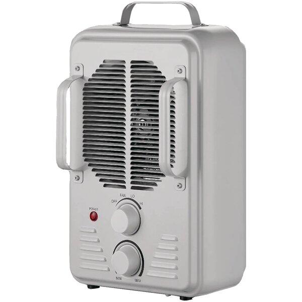 Utility 1,500 Watt Electric Fan Compact Heater by