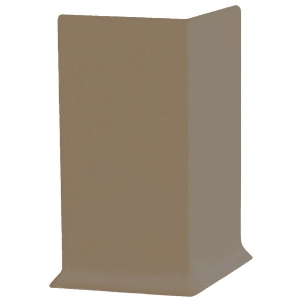 2.25 x 4 x 2.25 Cove Molding in Fawn (Set of 25) by ROPPE