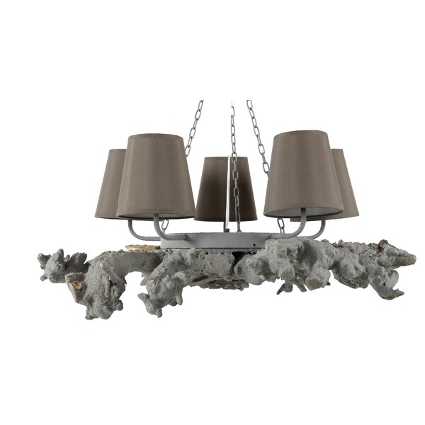 Connelly 5 - Light Shaded Classic / Traditional Chandelier By Highland Dunes