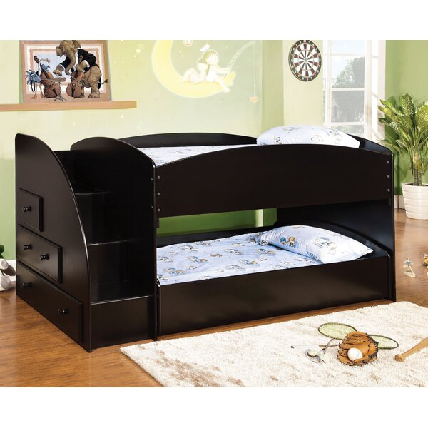 Jamie Twin Bunk Bed with Drawers by Hokku Designs