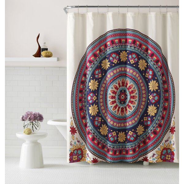 Hulse Shower Curtain by Bloomsbury Market
