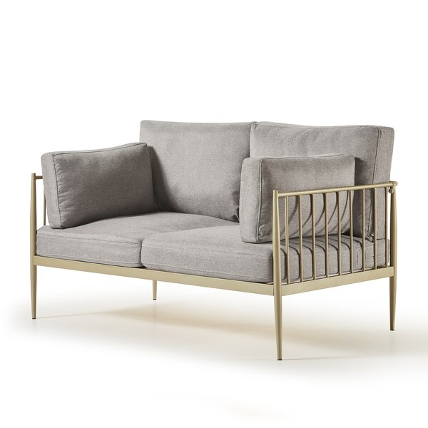 Janelle 54.17'' Square Arm Loveseat By Latitude Run