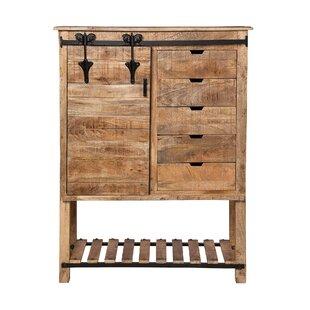 Marinez Restoration Kitchen Storage 1 Door Accent Cabinet