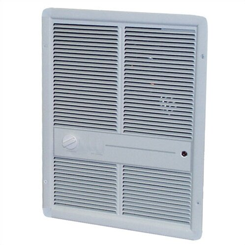 4,800 Watt Wall Insert Electric Fan Heater with Summer Fan Forced Switch by TPI