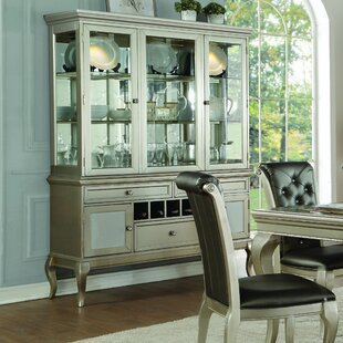 Gentil Marisol Buffet Table With Dining Hutch