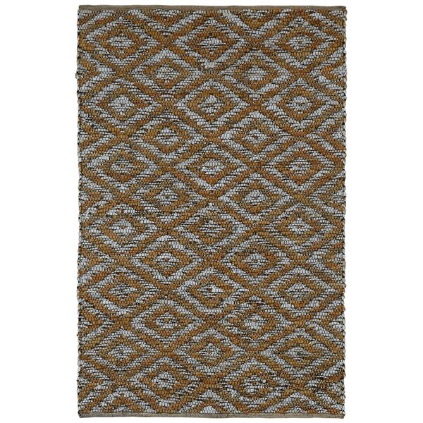 Sandford Hand-Loomed Gold Area Rug by Union Rustic