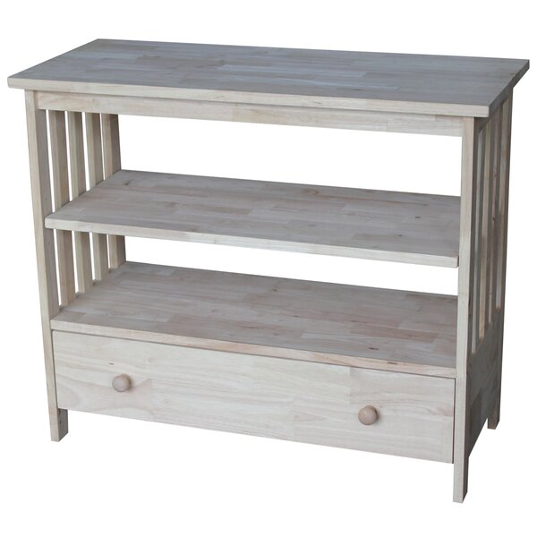 Schimmel Solid Wood TV Stand For TVs Up To 40