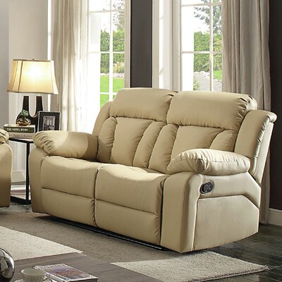 2 Seat Beige Reclining Loveseats Amp Sofas You Ll Love In