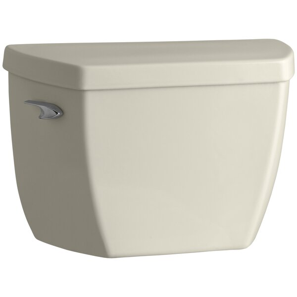 Highline 1.0 GPF (Water Efficient) Toilet Tank (Seat Not Included) by Kohler