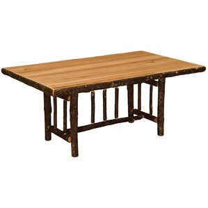 Hickory Rectangle Dining Table by Fireside Lodge