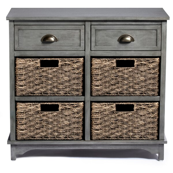 Find Britannia 6 Drawer Accent Chest by Rosecliff Heights