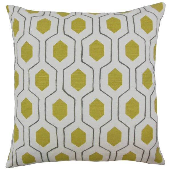 Quinton Geometric Floor Pillow by Corrigan Studio
