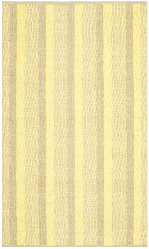 safavieh handgewebter innen au enteppich sookie in gelb bewertungen. Black Bedroom Furniture Sets. Home Design Ideas
