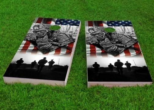 US Army Cornhole Game (Set of 2) by Custom Cornhole Boards