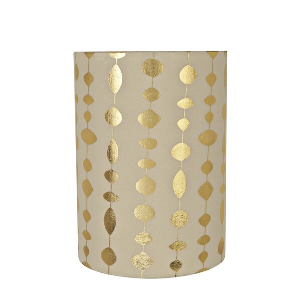 Transitional Spider 8 Fabric Drum Lamp Shade by George Oliver