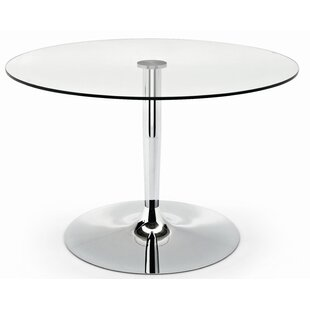 Planet Glass Dining Table by Connubia