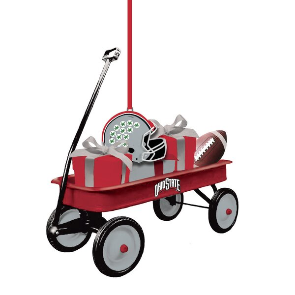 Team Wagon Ornament Hanging Figurine by Evergreen Enterprises, Inc