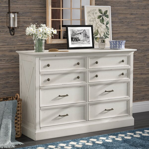 Moravia 8 Drawer Double Dresser by Laurel Foundry Modern Farmhouse