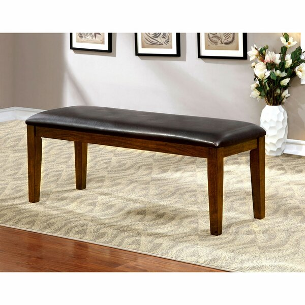 Sion Faux Leather Bench by Winston Porter Winston Porter