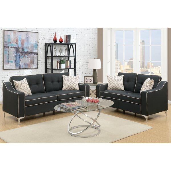 Find Sebastian 2 Piece Living Room Set by Mercer41