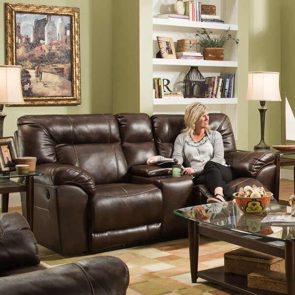 Colwyn Motion Reclining Loveseat by Darby Home Co