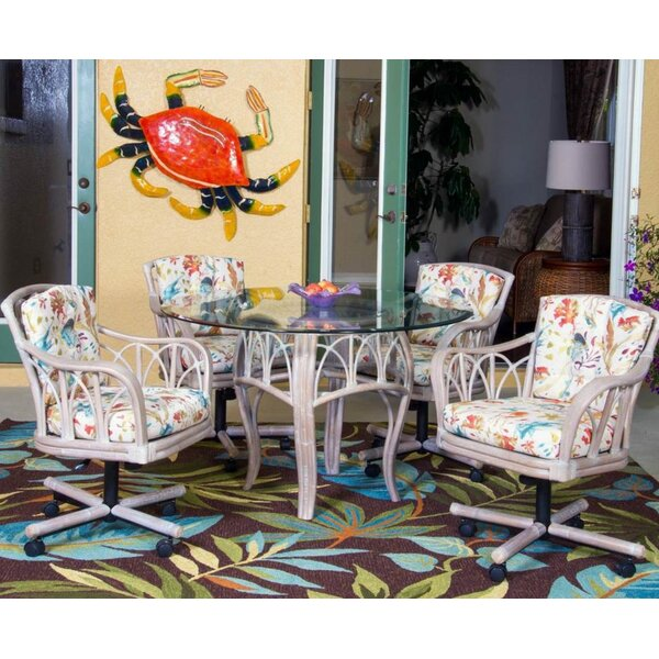 Presley 5 Piece Dining Set by Bay Isle Home Bay Isle Home
