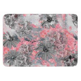 Floral Blush By Zara Martina Mansen Bath Mat