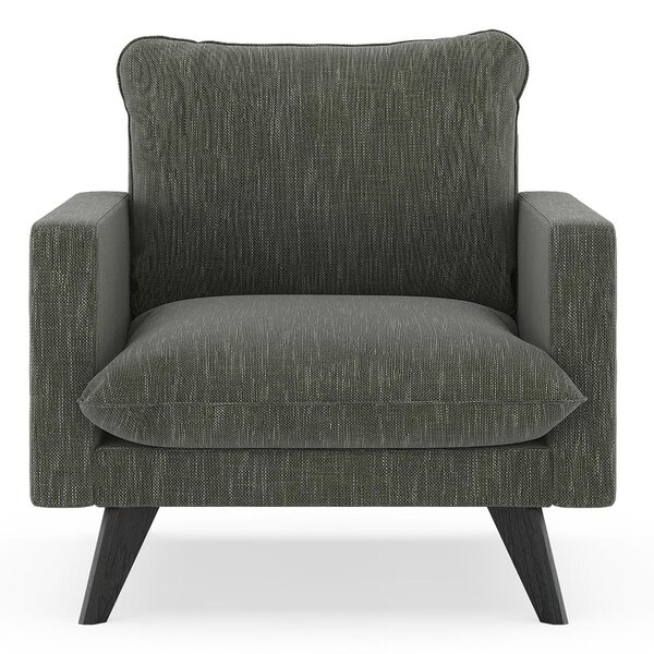 Crosswhite Armchair by Corrigan Studio