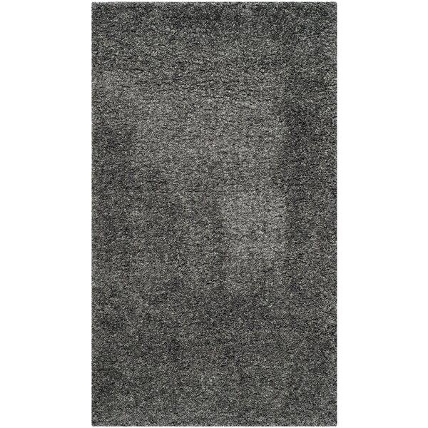 Arce Dark Gray Area Rug by Mercury Row