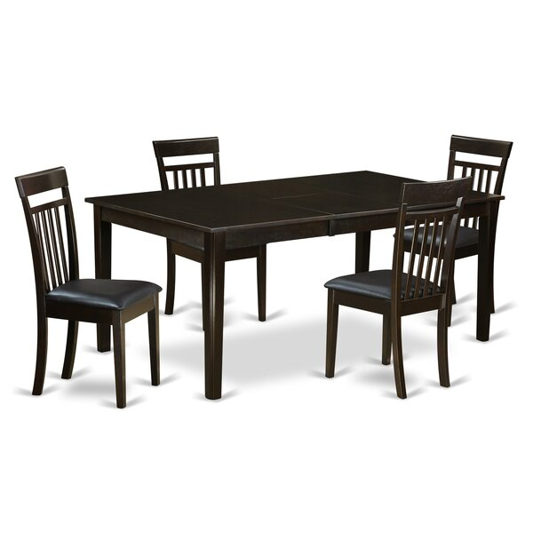 Henley 5 Piece Dining Set by East West Furniture