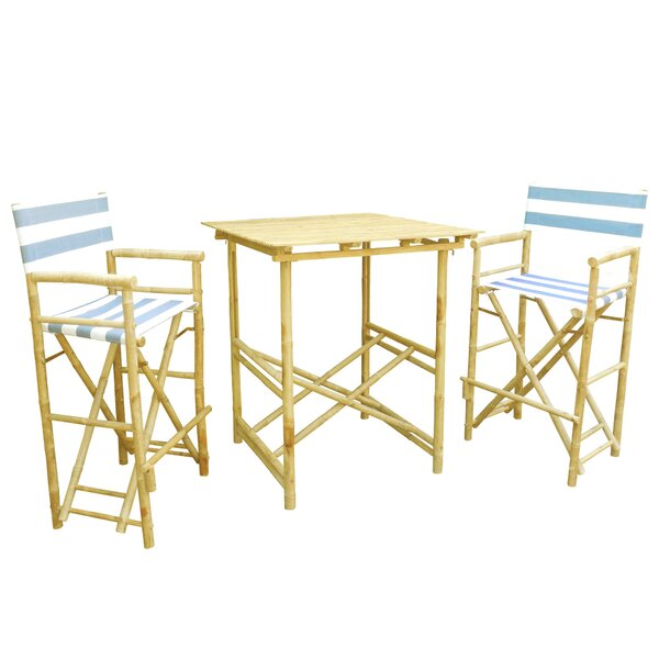 Olivera 3 Piece Bistro Set by Darby Home Co