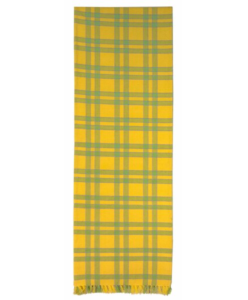 Grand Island Plaid Table Runner (Set of 2) by August Grove